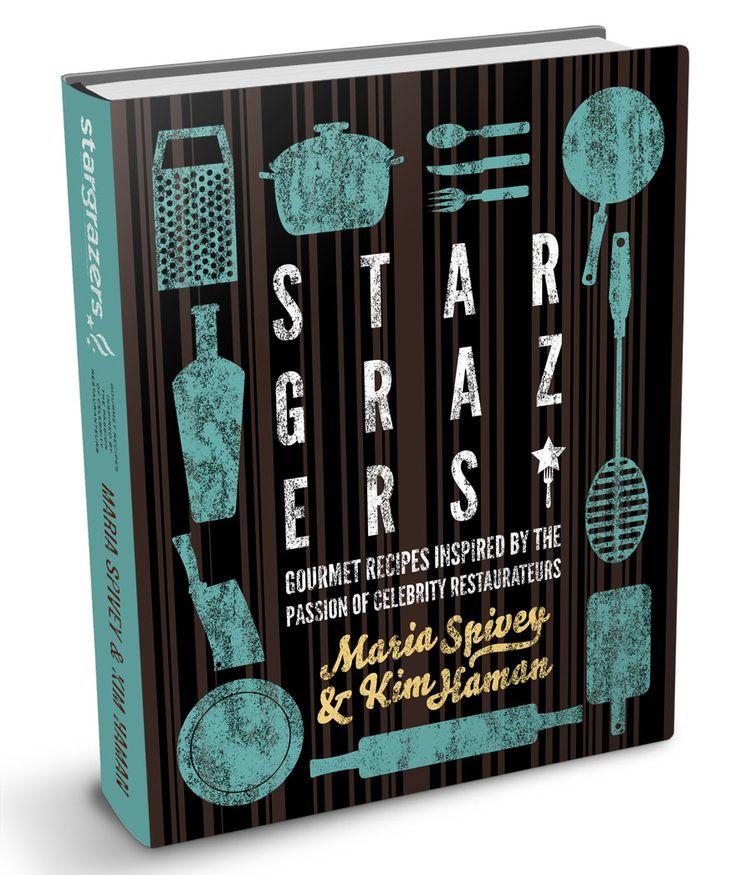 Stargrazers Cookbook by Design 7 Studio (via Creattica)