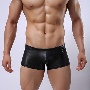 Menn+Sexy+imitert+skinn+menns+undertøy+–+NOK+kr.+52