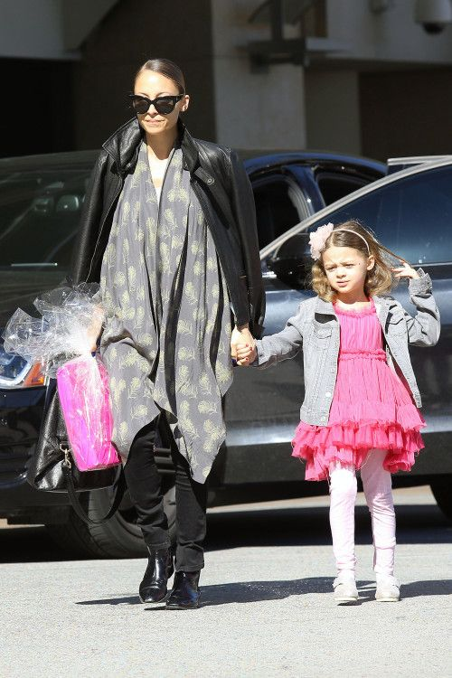 Nicole Richie and Sparrow