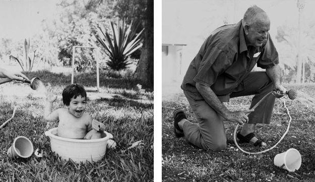 בלוג חשיפה של הארץ שני דורות, שתי טיפות מים הצלמת אורלי זיילר מביימת מחדש תמונות משפחתיות, בוחנת את הדימיון בין דורות, ומעלה מתוך ההקבלה שאלות חשובות לגבי זהותנו