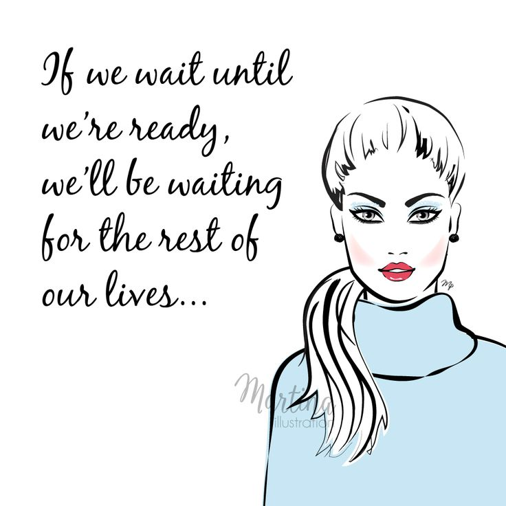 ready quote fashion illustration – Illustrated Quotes