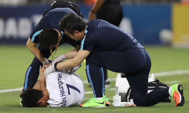 Tottenham's Son Heung-min set for surgery on fractured arm
