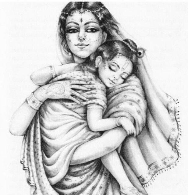 Bal Gopal With Balarama And Yashoda God T Krishna