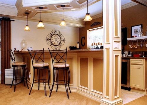 17 best images about lower level bar ideas on pinterest for Kitchen cabinets quality levels