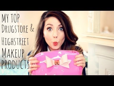 ▶ My Top Drugstore & Highstreet Makeup Products - YouTube