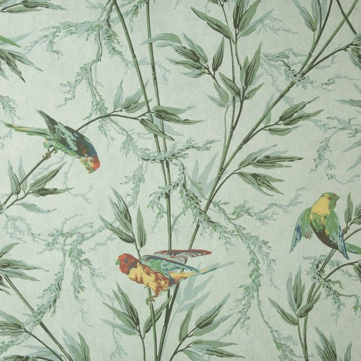 Great Ormond St - Verditure - wallpaper by Little Greene - and as seen on BBCs The Great Interior Design Challenge