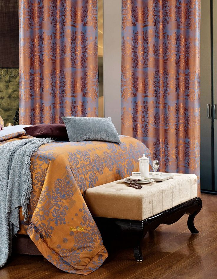 Hathor Curtains. Matching bed set available.
