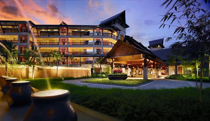 Ocean Wing Facade  Shangri-La's Rasa Ria Resort, Kota Kinabalu