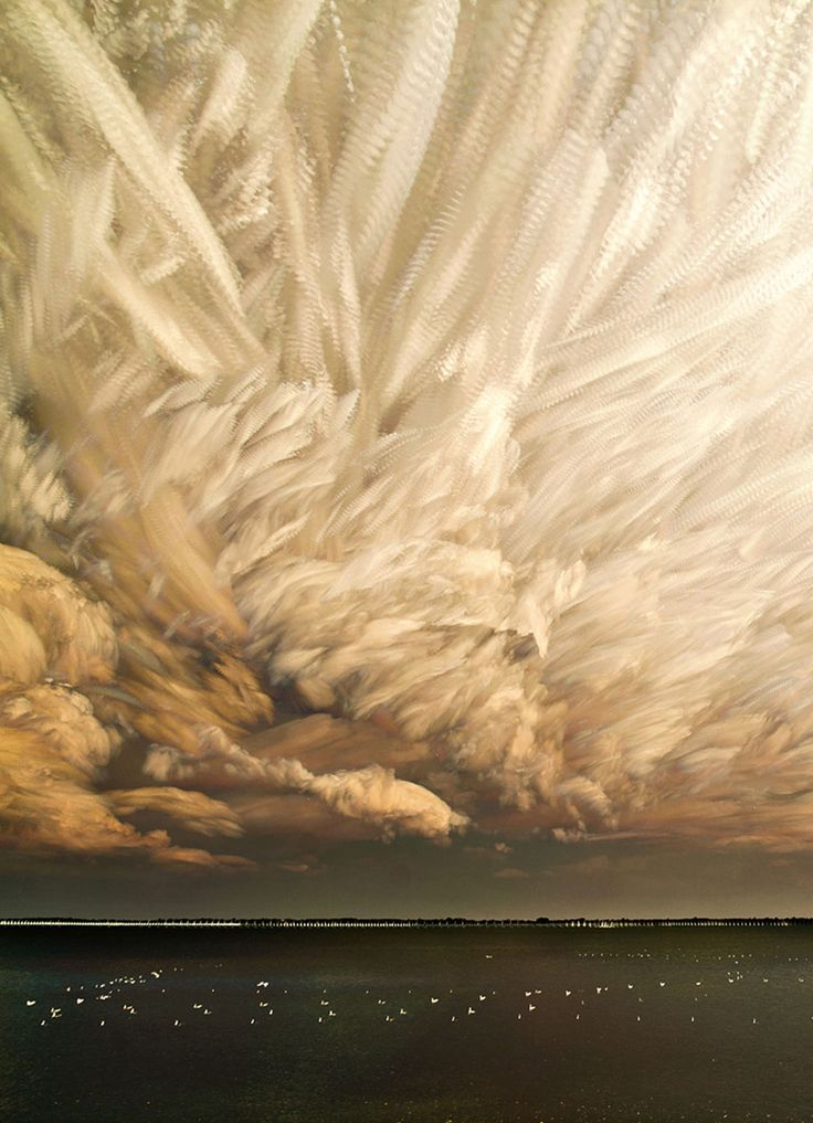 Stunning Smeared Sky Photography by Matt Molloy via demilked:  Each final picture is composed out of hundreds of separate shots each of which is taken from the timelapses Molloy shoots himself. Thanks to @Ben Silbermann ! #Photography #Smeared_Sky