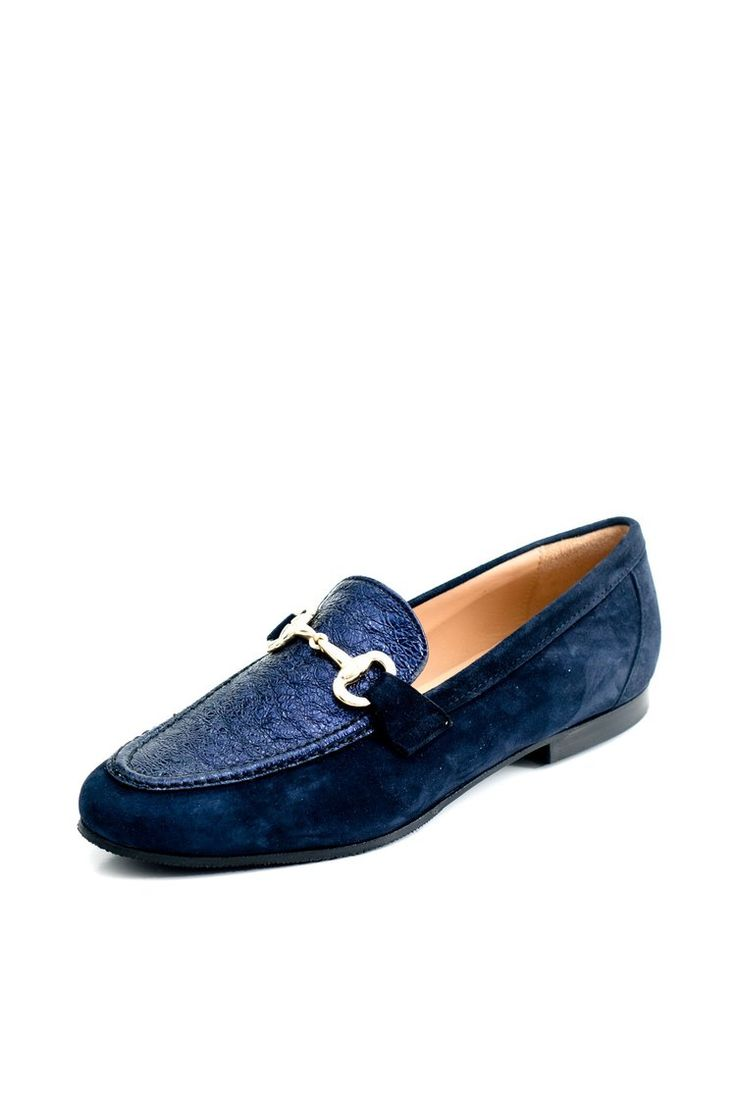 Beautiful blue suede loafer. Italian leather, leather lined, made exclusively for cherri bellini, Rundle St, Adelaide.