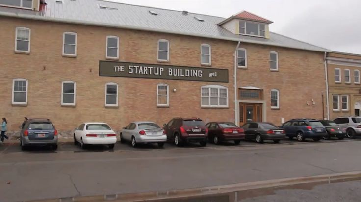 "I used to work in this building during college. It was not ""hip"" back then. The ""Start Up Building"" got it's name from a candy company that inhabited the building. Coincidentally it now houses budding tech start ups."