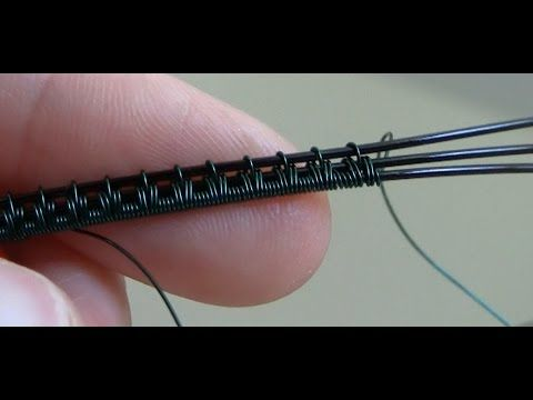 Introduction to Wire Weaving Tutorial - Beaducation.com - YouTube (tutorial on several different wire weaves, very good turtorial)