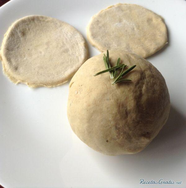 Receta de Masa para empanadas sin gluten