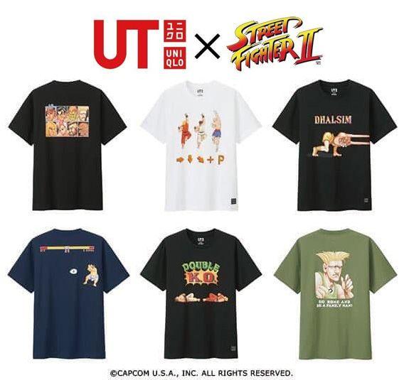 Capcom T-Shirt Heroes Black Tee