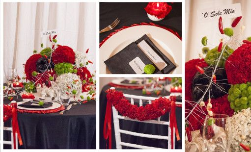 vedi Napoli e poi muori… Flower Design Giovanni Cirillo scuola Floristil wedding planner Claudia Miccini e Micaela Bergamin