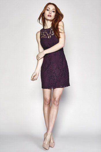 Gabby Dress Blackberry  by BB Dakota