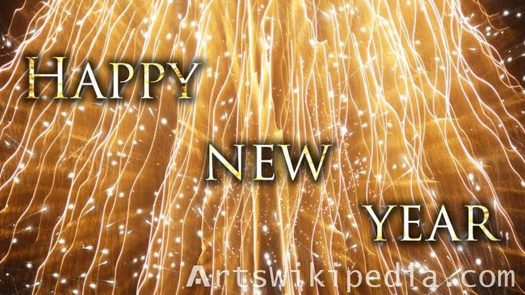 happy new year shiny image #happy #new #year #shiny #glossy #light #gold #firework #holiday #celebrate #sparkles #wallpaper #image #picture