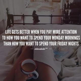 #Monday #coffee #goodvibes ❤️ Join the #Bossbabe Netwerk™ (Click The Link In Our Profile Now! )