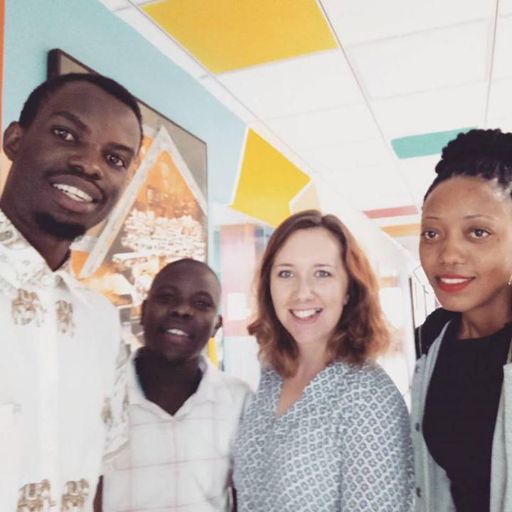 Meeting with Nicola of #ChallengesWorldwide and Doreen from #RestlessDevelopment all about the exciting upcoming ICS World Youth Skills Day for #ICSAlumni in Uganda 15.July.2017 #BalloonVentures #GrowBusinesses #ChangeLives This will be a better way to warm up for our International Youth Day Event in Iganga!