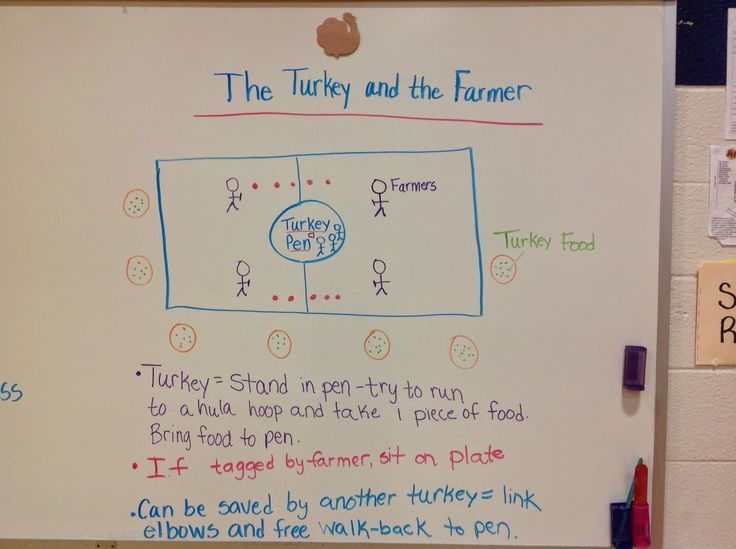 Thanksgiving Game Physical Education- THE TURKEY AND THE FARMER GAME FOR P.E. CLASS.