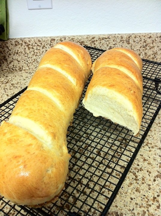 French Bread Recipe - soo yummy and a whipped honey butter to serve it with
