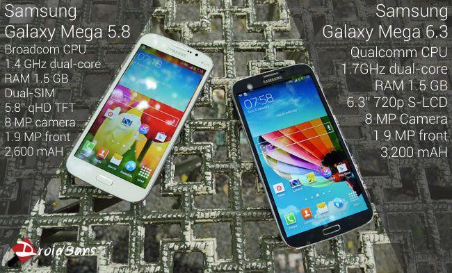 พรีวิว Samsung Galxy Mega 6.3 และ Galaxy Mega 5.8 DUOS