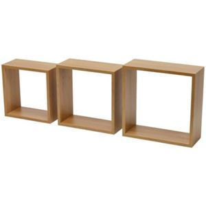 Duraline Triple Cube Knotty - Oak Effect - 3 pieces