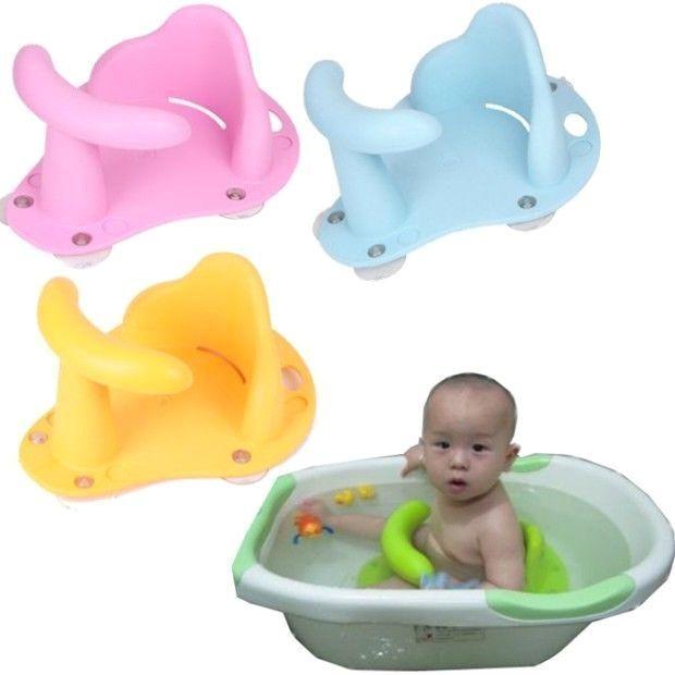 Baby Bath Seats For Sale Ebay Baby Infant Child Toddler Bath Seat Ring Non Anti Slip Safety Chair Mat Pad Tub B In 2020 Baby Bath Mats Toddler Bath Baby Bath Tub