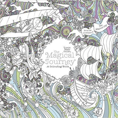 The Magical Journey A Colouring Book Books For Adults Amazon