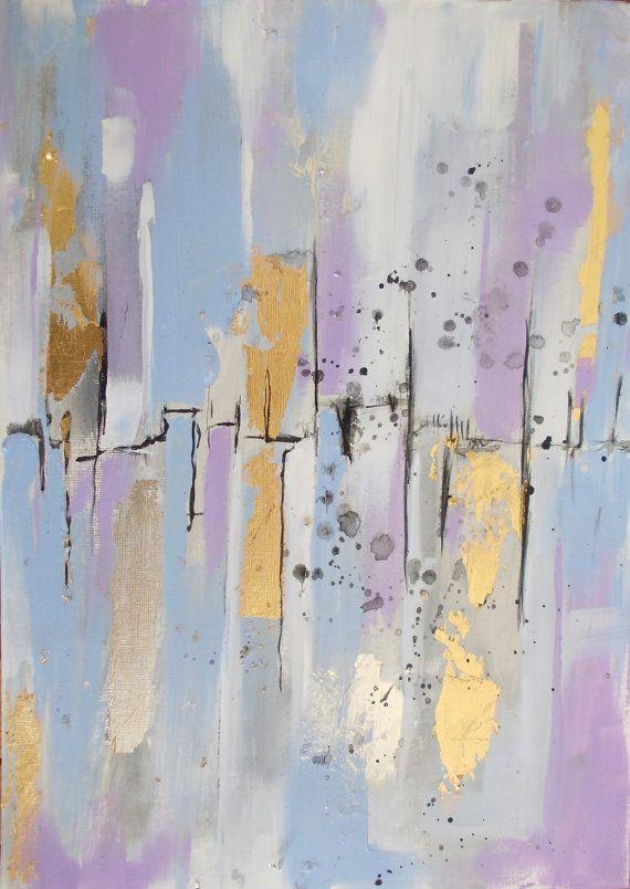 Original abstract acrylic paintingabstract by AntigoniArtGallery