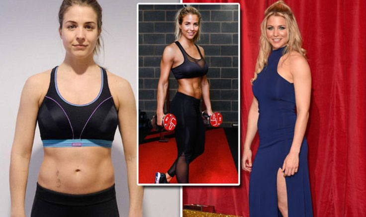 WEIGHT loss: Gemma Atkinson, who will soon appear on Strictly Come Dancing and is known for starring in Emmerdale and Hollyoaks, has transformed her body using a 12 week diet and fitness plan.