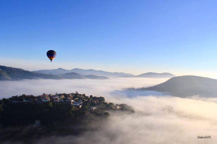 Balonismo em São Lourenço MG por Gislene Ras