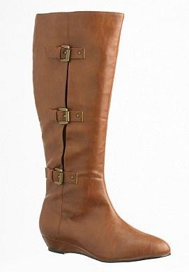 Wide calf boots $30