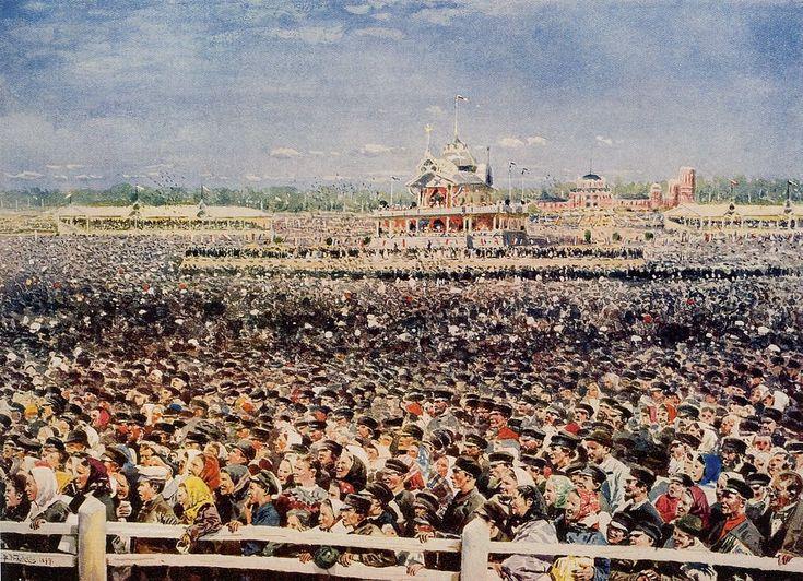Гибель сотен людей потрясла Маковского; его впечатления отразились в картине «Ходынка» (1901), которая долгое время была запрещена цензурой.