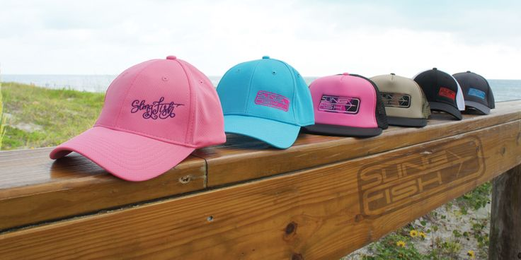 Nice selection of hats for men and women to show off your love for spearfishing and freediving. Flexfitted hats, snapbacks and trucker hats