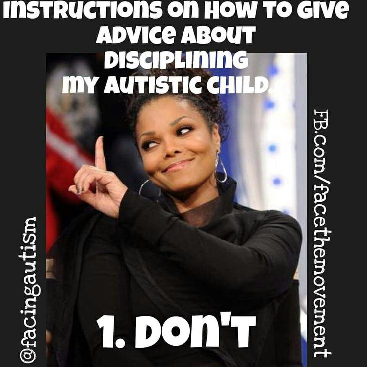 Unless you know the struggles, don't go there. You can't discipline the autism out of them. #autism