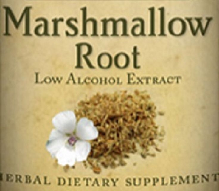 MARSHMALLOW ROOT All Natural Herbal Tincture for Sore Throats Dry Mouths Heartburn & Ulcers Nutritional