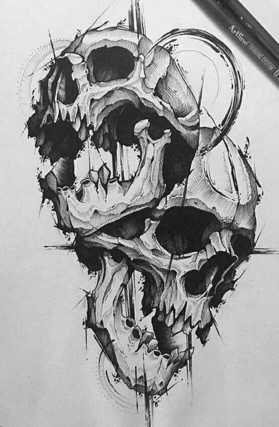 Tatto Crazy Art Ideas: Tattoo Drawings, Skull Art, Tattoo