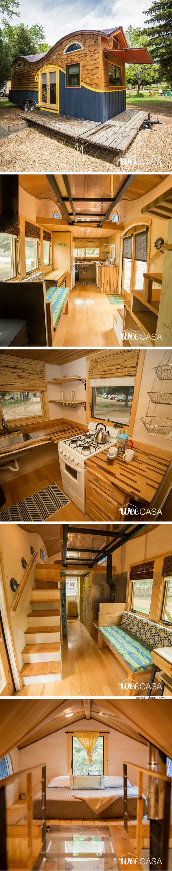 The Pequod: a beautifully designed tiny house at the WeeCasa Tiny House Resort
