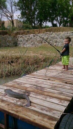 Ethan 1st fish
