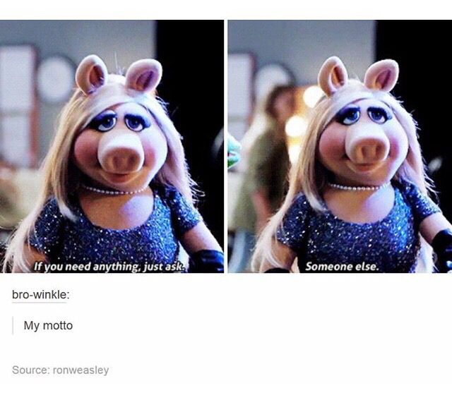 Miss Piggy is just goals