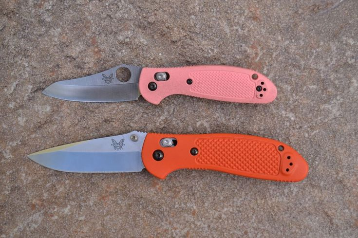 "0 Likes, 1 Comments - Leon Pantenburg (@survivalcommonsense) on Instagram: ""Make your EDC knife less threatening by getting one with a gaudy handle. These Benchmade…"""