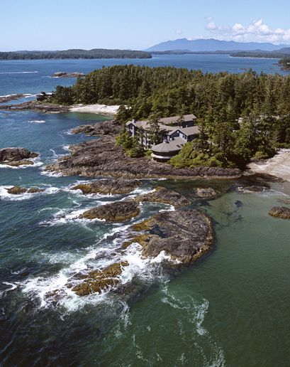 "Tofino - Vancouver Island, Canada Wickannish Inn - Canada in winter? Yes. The big storms start in December, and that's when to book your ocean-view room at this ""rustic"" Relais & Châteaux lodge."