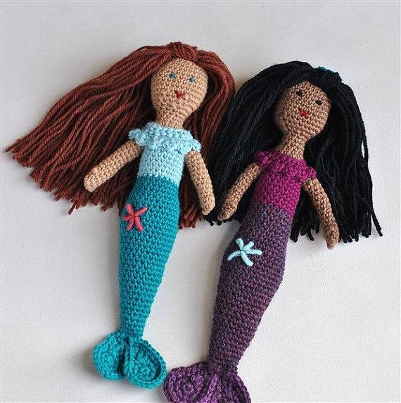 """mermaids"" #crotchet #animals #toys #crotchetanimals Crotchet Animals Must make!"