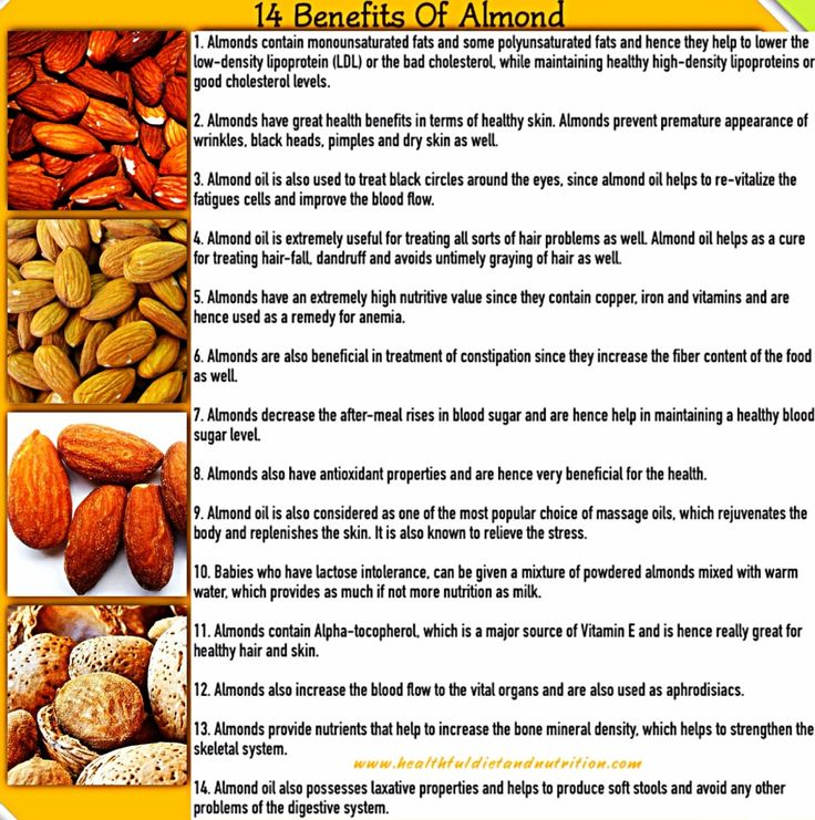 """Almond is one of the KEY ingredients for our handmade soap """"Love""""."""