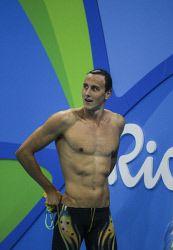 TWA-0050888 © WestPix 2016 Rio Olympics. Rio de Janeiro, Brazil. Swimming. 100M FREESTYLE HEAT 8. Cameron McEvoy . Picture: Simon Santi The West Australian