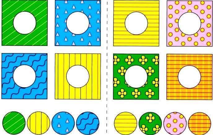 anaokulu desen eşleme oyunu | Evimin Altın Topu