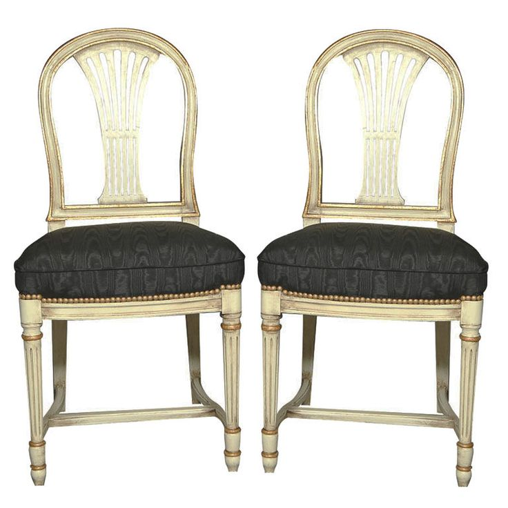 12 best gustavian benches and chairs images on pinterest for Swedish style dining chairs