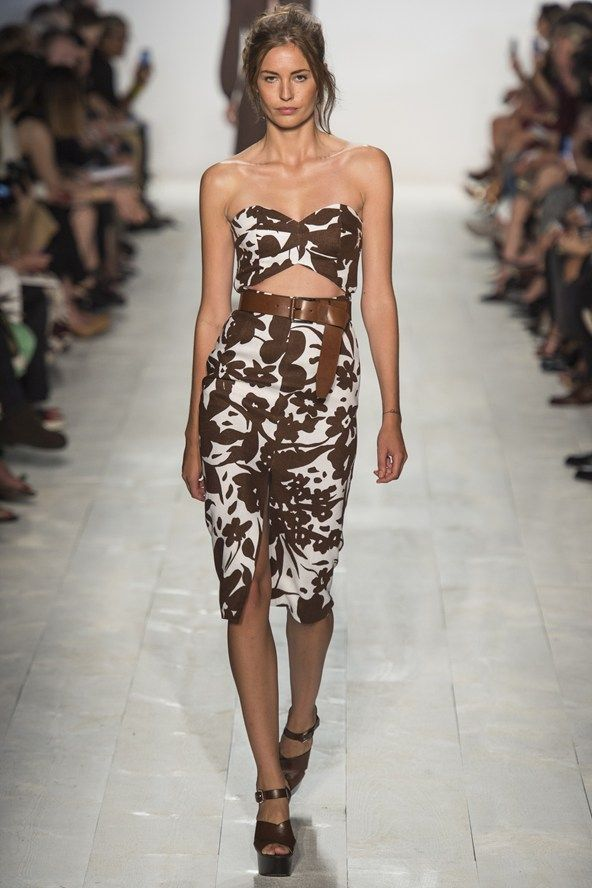 Spring/Summer 2014 Fashion Week Highlights – Top Trends (Glamour.com UK) Michael Kors