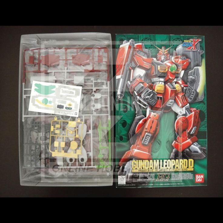 [MODEL-KIT] HG 1/100 - GT-9600-D GUNDAM LEOPARD DESTROY . Item Size/Weight : 31 x 19.3 x 8.2 cm / 411g*. (*ITEM SIZE & WEIGHT BEFORE PACKAGED). Condition: MINT / NEW & SEALED RUNNER. Made by BANDAI.